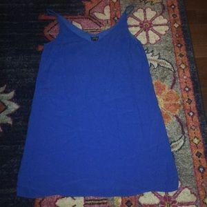 Top shop royal blue dress